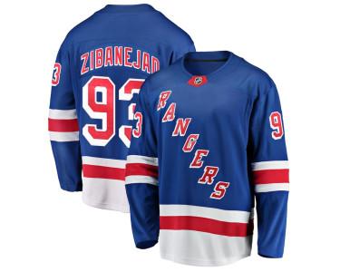 Хоккейный свитер Зибанежад Нью-Йорк Рейнджерс домашний